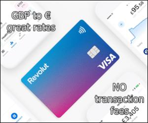 Revolut, great rates no fees